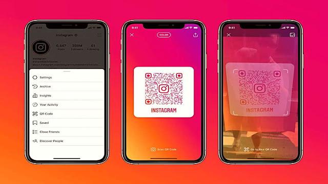 Instagram'a Kullanıcıları QR Kodla Bulma Özelliği Geldi [Nasıl Kullanılır?]