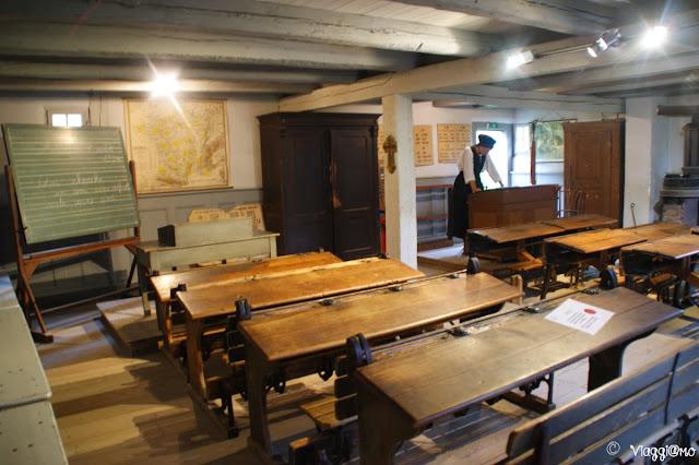 La scuola non poteva mancare all'Ecomuseo d'Alsazia