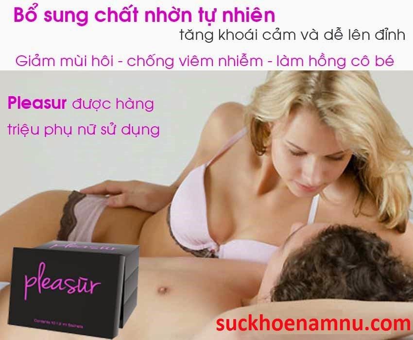 Pleasur tăng cường sinh lý nữ, tạo cảm xúc thăng hoa