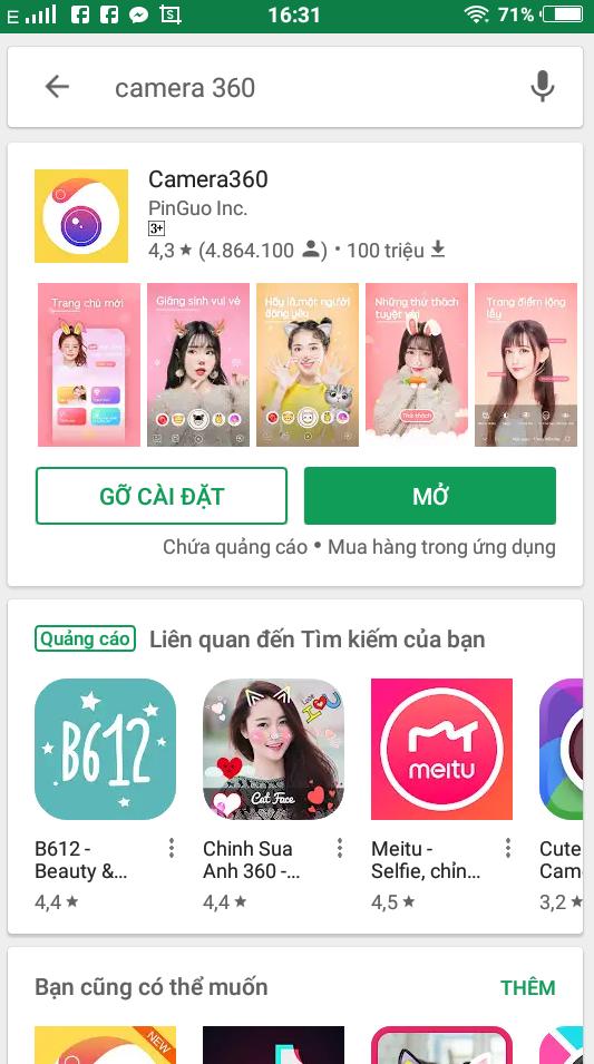 Tải ứng dụng trên Ch Play