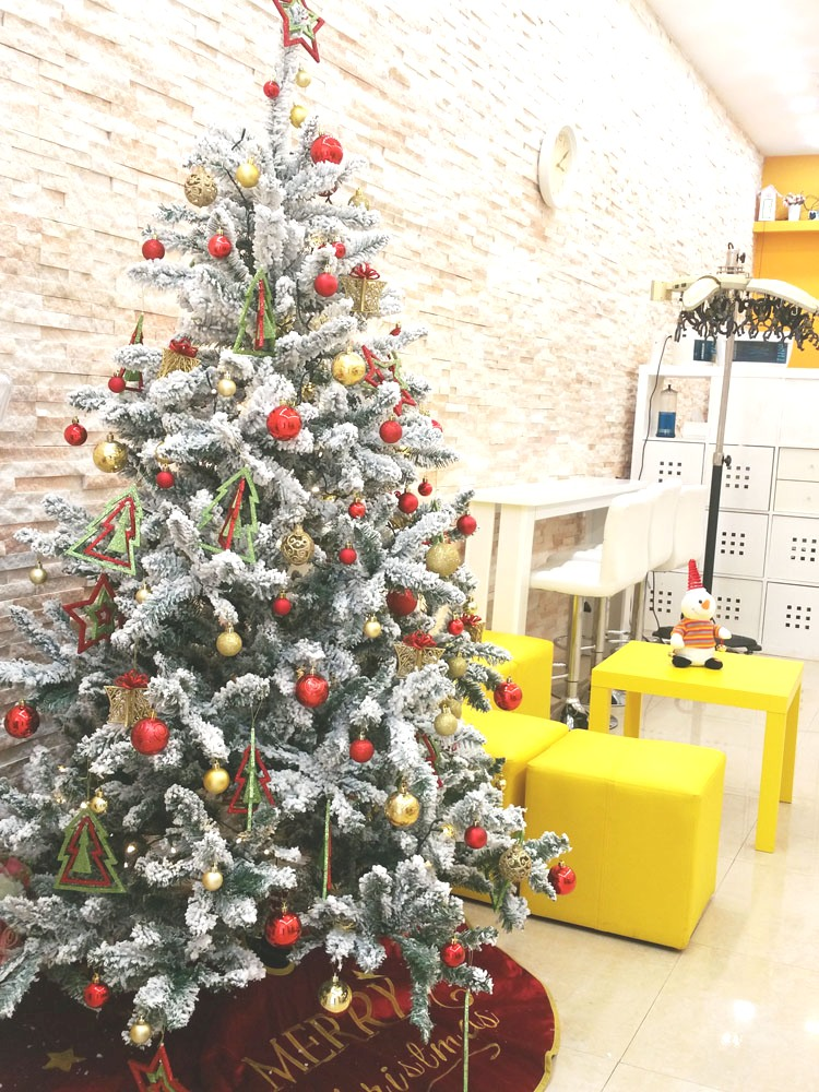 Christmas Beauty Salon.Korean Beauty Salon Dubai Digital Perm Salon Our Shop