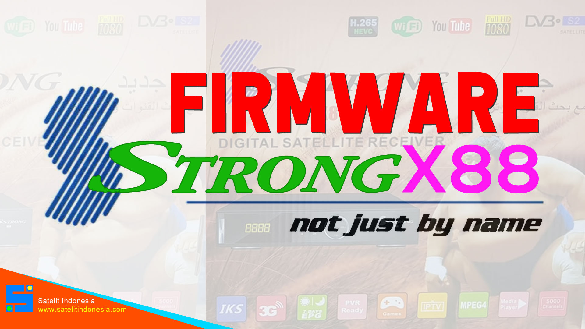 Download Software SStrong X88 HD New Update Firmware Receiver