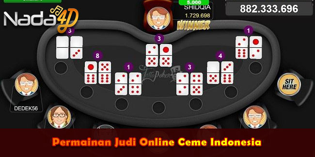Permainan Judi Online Ceme Indonesia