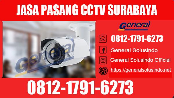 Jasa Pasang CCTV Benowo Surabaya