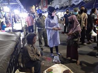 Bupati Faida Sidak Pasar Tanjung untuk Menuju New Normal