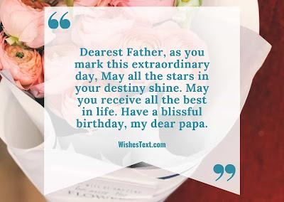 birthday wishes dady