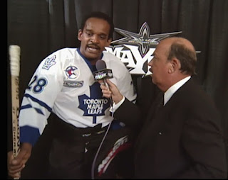 WCW Mayhem 1999 - Mean Gene Okerlund interviews Screamin' Norman Smiley