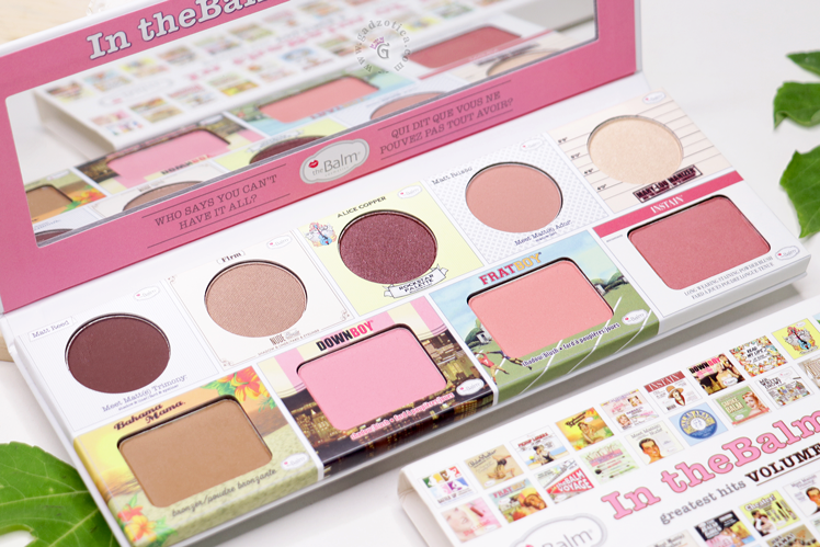 the balm of your hand palette