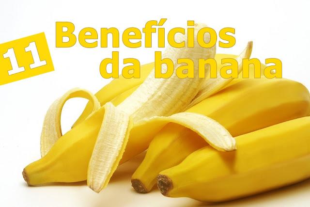 11 benefícios surpreendentes da banana