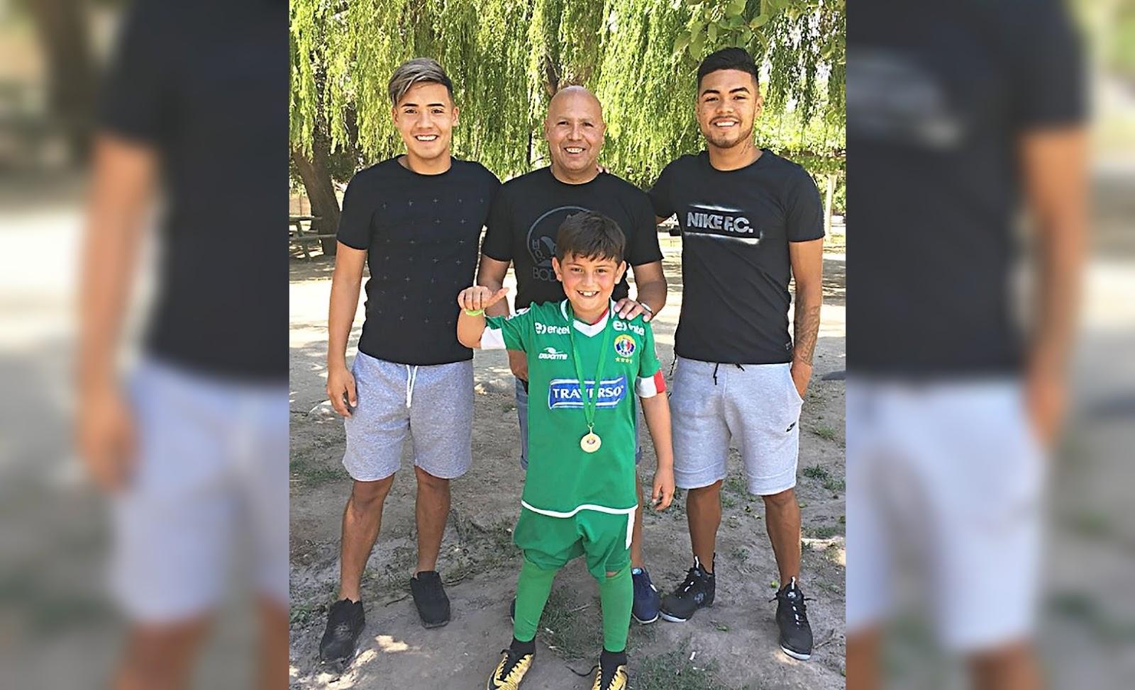 Ítalo Díaz habla de sus hijos Paulo y Nicolás