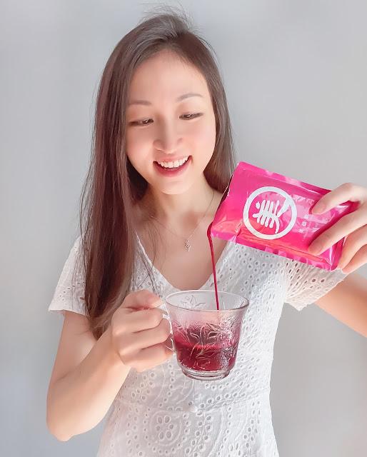 Celeste-Lao Xie Zhen Collagen Drink