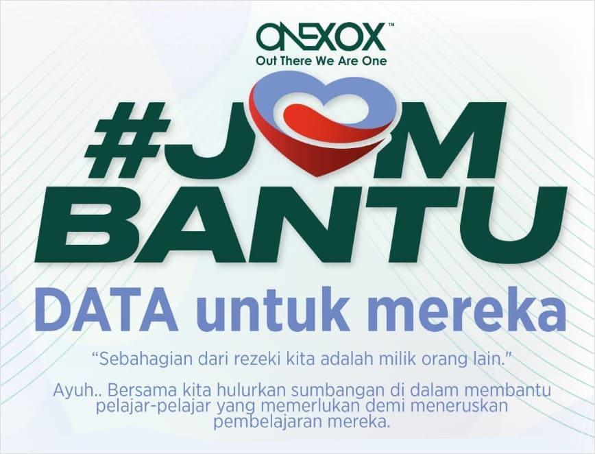 JomBantu Sumbang Data Internet ONEXOX