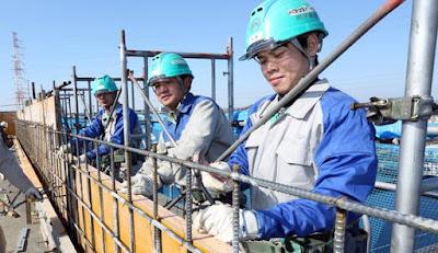 Jenis pekerjaan pemagangan Imm Japan