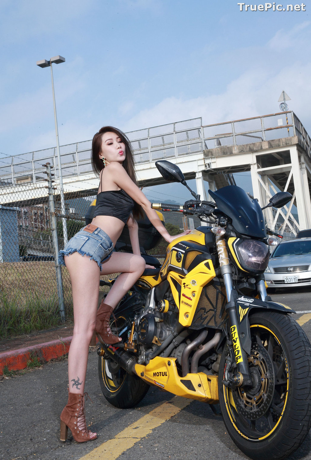 Image Taiwanese Model - Suki - Beautiful and Lovely Motor Racing Girl - TruePic.net - Picture-10