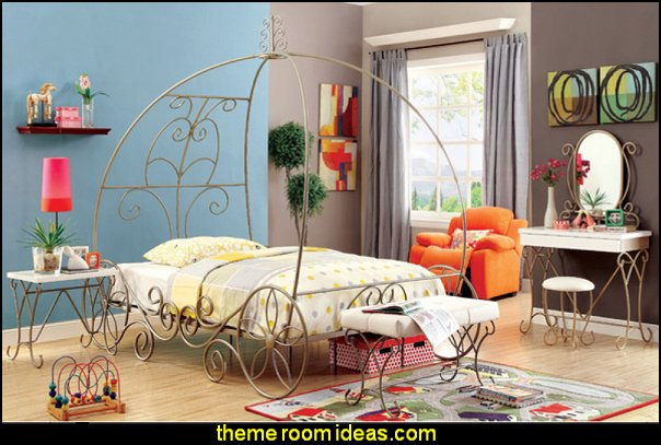 Canopy Bed girls bedroom furniture