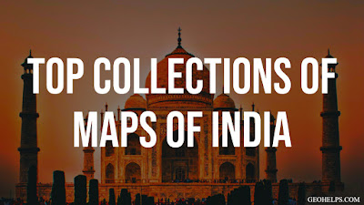 The Best Collections of Maps of India