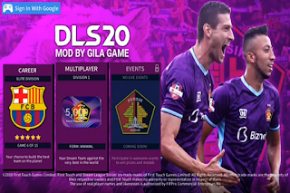 DLS Mod Persik Kediri Edition New Kits & Squad Transfer 2020/2021