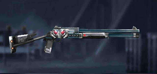 Shotgun M1014 Apocalytic Red