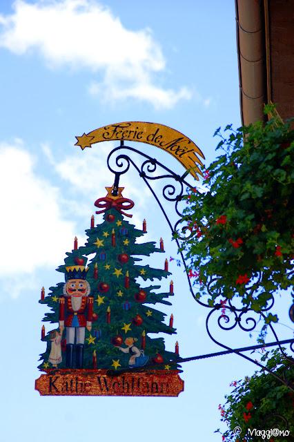 Insegna del Negozio natalizio di Riquewihr