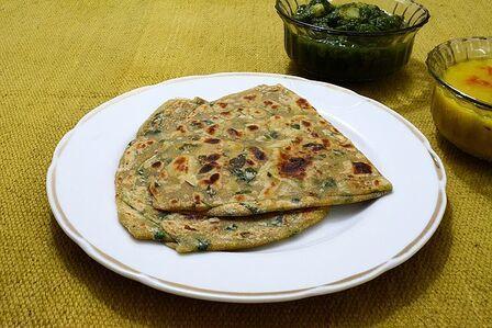 Methi paratha recipe easy to home