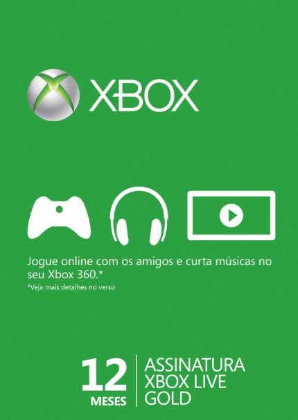 Sorteio de UM ANO de Xbox Live Gold!