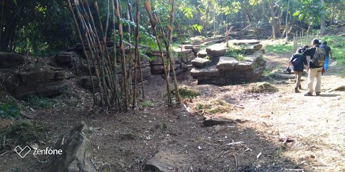 Perhimpunan Mahasiswa Purwakarta (PERMATA) Dalami Temuan Situs Sejarah Petilasan Sangkuriang di Desa Kutamanah, Sukasari - Purwakarta