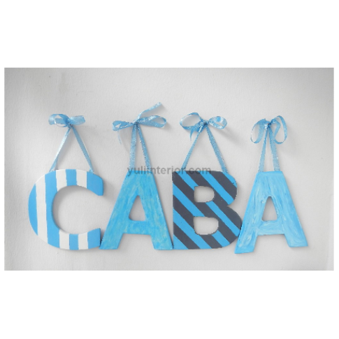 Decorative wooden Letters in Nigeria