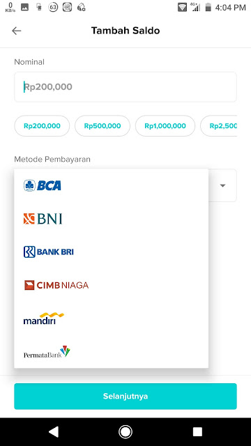 pilihan pembayaran payment otto trading sosial