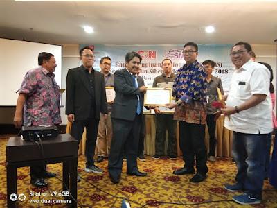 SMSI Lampung Sabet Penghargaan Dewan Pers, Jurnalistik Kekinian Menembus Ruang dan Waktu