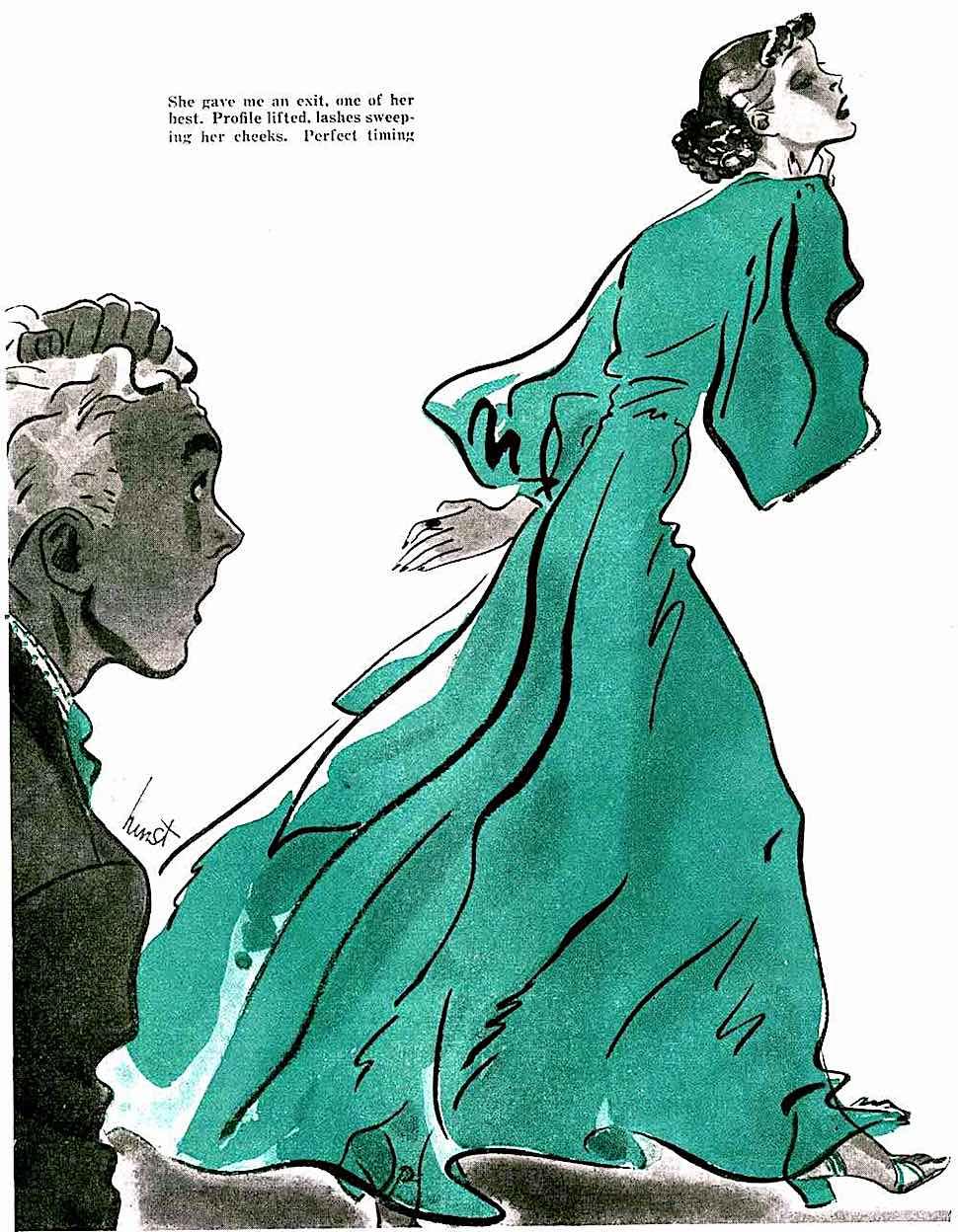 an Earl Oliver Hurst magazine illustration