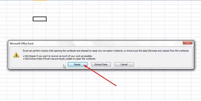 Cara Memperbaiki File Excel Yang Corrupt