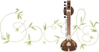 Google Doodle Peringati Ulang Tahun Pandit Ravi Shankar