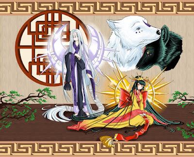 Tsukuyomi, Amaterasu, Susanoo