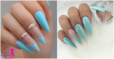 The color blue is beautiful and feminine