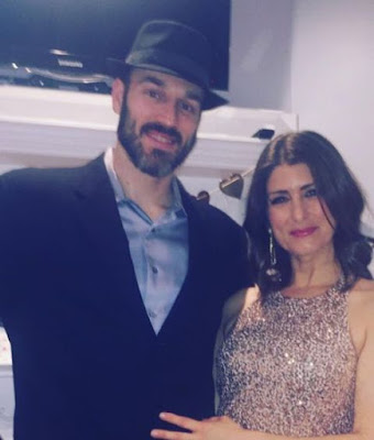 Vanessa Murdock with her husband