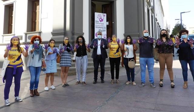 Fuerteventura.- Puerto del Rosario se suma al Día Internacional contra la Violencia hacia las mujeres