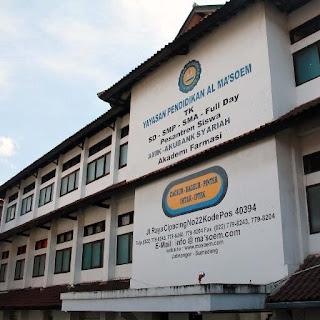 SMA AL MA'SOEM SMA Unggulan di Bandung Berkualitas