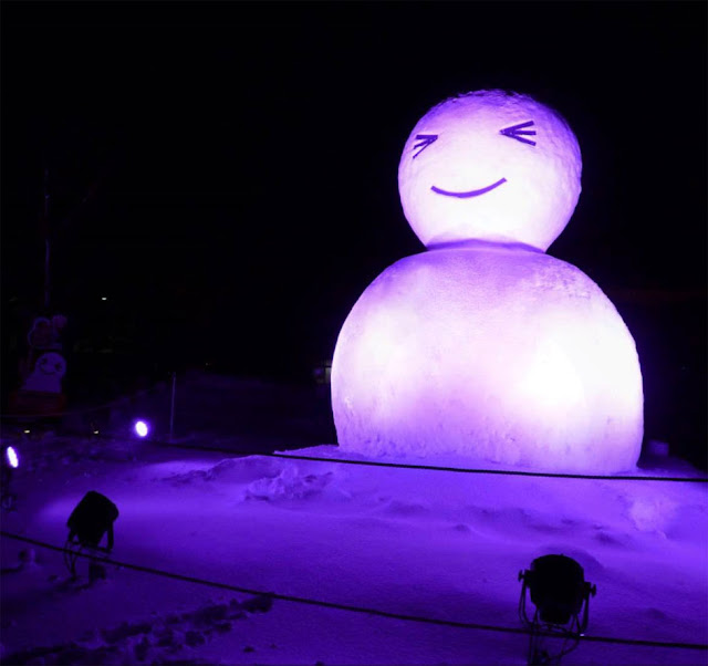 Winter Festival on Hot Springs of Katayamazu, Kaga City, Ishikawa Pref.