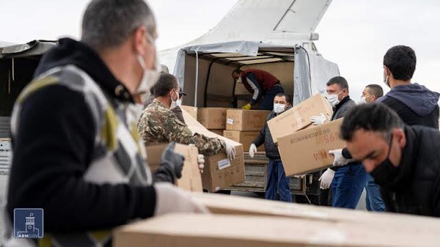 Emiratos Árabes envió ayuda médica Armenia
