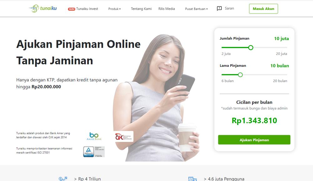 Tunaiku-Pinjaman online Cepat cair Kredit Dana