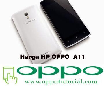 Harga HP OPPO  A11