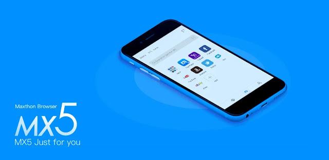 تنزيل متصفح Maxthon Browser  - متصفح ويب Maxton سريع وبسيط لنظام الاندرويد