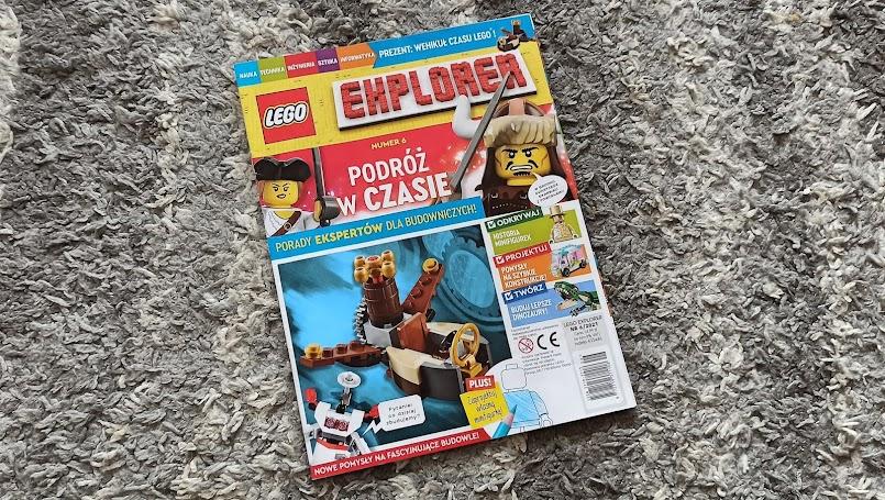 """""""Lego Explorer. Magazyn 6/2021"""" - świetna rozrywka dla miłośników Lego"""