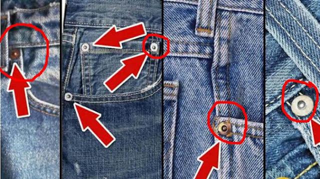 Ternyata Ini lo kegunaan tombol kecil pada celana Jeans