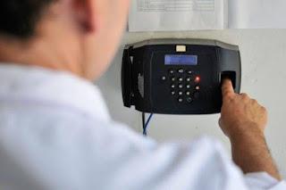 Quase 10 mil servidores federais usarão ponto eletrônico na Paraíba