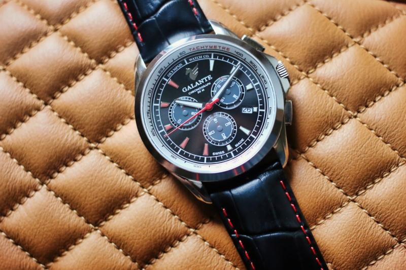 Olympus Watch Co. Galante Chronograph
