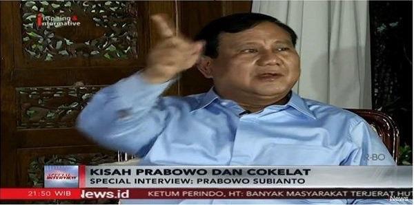 Prabowo Tegur dan Tunjuk Ajudannya karena Bocorkan 'Rahasianya' Tenang Jelang Debat