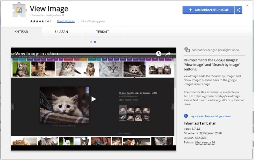 Solusi hilangnya view images button 4