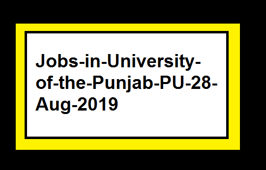 Jobs-in-University-of-the-Punjab-PU-28-Aug-2019
