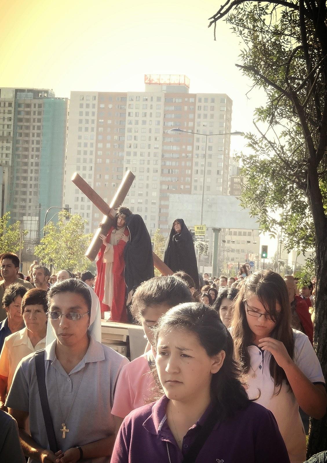 Crucifixión de pulido con cera ex nun waxing vista aérea
